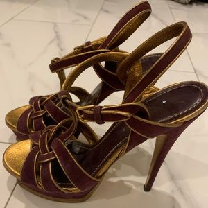 YSL Tribute sandals, size 40